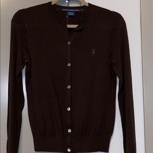 Ralph Lauren Sport 100% Merino Wool Cardigan